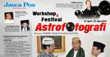 Workshop Astrofotografi Agus Mustofa